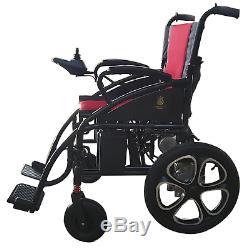 Portable Electric Wheelchair Lightweight Heavy Duty Durable Power Wheel Chair