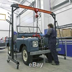 Portable Gantry Crane Adjustable 1tonne Sealey SG1000