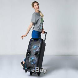 Portable Heavy Duty Bluetooth Wireless 400w Speakers Megabox 2000 Party System