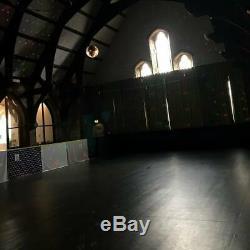 Portable dance performance Reversible Vinyl Flooring Heavy Duty