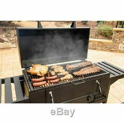 Premium BBQ smoke Charcoal HEating Grill Outdoor Garden Heavy-Duty Cast Iron UK