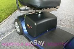 Pride Colt Twin 4mph Class 2 Portable Mobility Scooter 1718