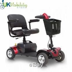 Pride Go Go Elite Traveller Sport, Travel Mobility Scooter Heavy Duty Portable