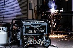 Pulsar G12KBN Heavy Duty Portable Dual Fuel Generator 9500 Rated Watts & 12