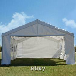 Quictent 4x6m Waterproof Marquee Wedding Party Tent Canopy Outdoor Patio Gazebo