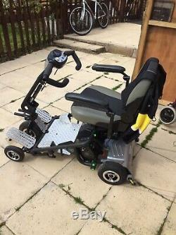 Quingo Air Portable 4mph Mobility Scooter. GOOD WORKING ORDER