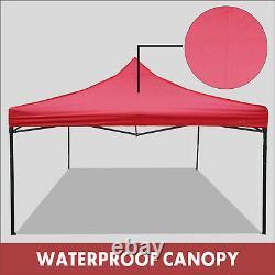 REGNUM GAZEBO 3x3 HEAVY DUTY Pop Up Waterproof Marquee Garden Party Tent Canopy