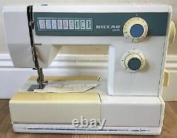 Riccar 8540 Heavy Duty Sewing Machine Pre-Owned Serviced Warranty UK Del