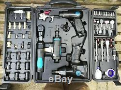 SGS 100 ltr portable Direct Air Compressor inc 71 pc Tools +heavy duty ratchet