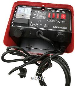 SPARK Car Battery Charger Heavy Duty 12V 24V Trickle Fast, Vehicle HGV Lorry