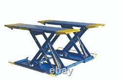 Scissor Lift, Mobile Vehicle Lift, Mid-Rise Lift, Portable 3 Ton, 1ph E4G MR10TD