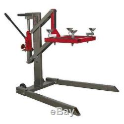 Sealey MCL500 Single Post Portable Motorcycle Motorbike Lift 450kg Capacity