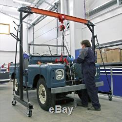 Sealey SG1000 1 Tonne Mobile & Adjustable Portable Gantry Engine Lifting Crane