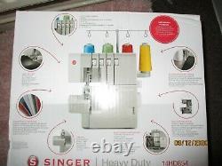 Singer 14HD854 Heavy Duty Overlocker Grey NOW REDUCED