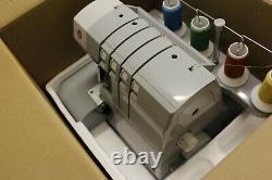 Singer 14HD854 Heavy Duty Overlocker Machine, used once