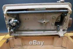 Singer 185K Electric Sewing Machine Heavy Duty Sews Leather Canvas Denim