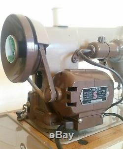 Singer 185k heavy-duty sewing machine fully working excellent condition