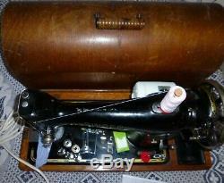 Singer 201k Semi Industrial Heavy Duty Straight Stitch Machine