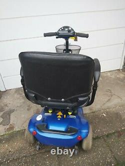 Sterling Pearl 4mph Portable Mobility Scooter folding boot bootmaster ^