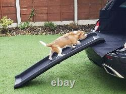 Streetwize Foldable Heavy Duty Car Boot Access Dog Ramp for Injured Elderly Pets