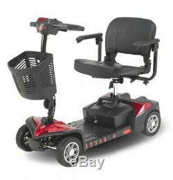 Style+ 4mph Portable Travel Car Boot Mobility Scooter Shoprider Aid 4 Wheeled