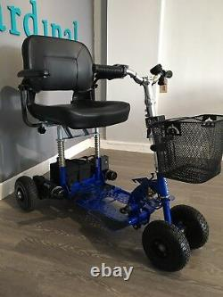Supascoota Spartan Lightweight Portable Mobility Scooter With Lithium Battery