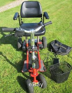 Supascoota Sport XL Mobility Scooter Lightweight Foldable Portable + user manual