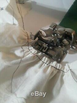 Super Heavy-Duty Singer 66-18 Godzilla Sewing Machine SERVICED! (N109a)s2a
