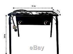 Taco Grill Cart Heavy Duty Portable Outdoor Gas Burner This one 32