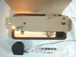 Toyota Atlantis Sailmaker Semi Industrial Heavy Duty Sewing Machine + Hard Case
