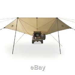 Truck Camping Tent Slumberjack Roadhouse Portable Tarp with Carry Bag- Easy Setup