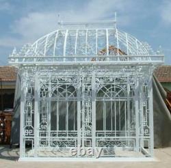 Tubular Estate Hand Made Custom Iron Gazebo, Solarium, Greenhouse #g27
