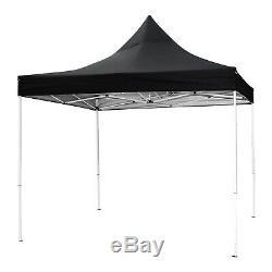 Upgrade Gazebo Pop-up Waterproof Marquee Canopy Garden Wedding Party Tent 3X3m