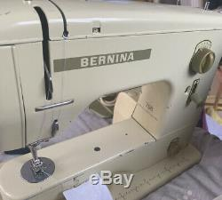 Vintage Bernina Minimatic 708 Heavy Duty Sewing Machine. Recently Serviced