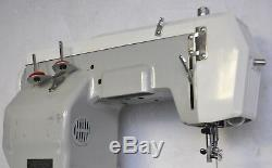 Vintage DOMESTIC #1366 Portable Heavy Duty Industrial Sewing Machine JAPAN