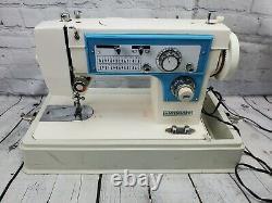 Vintage Dressmaker S-2402 Heavy Duty Sewing Zig Zag Embroidery Machine