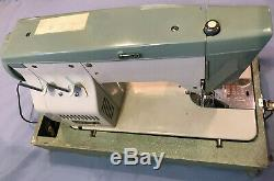 Vintage Heavy Duty BELEVDERE ADLER Sewing Machine Model 850-B