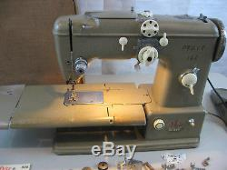 Vintage PFAFF 332 Heavy Duty Sewing Machine 1950's-Made In Germany