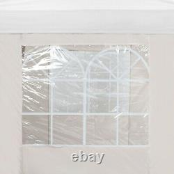 VonHaus 2M X 2M Pop up Gazebo Ivory Outdoor Gazebo / Waterproof Cover