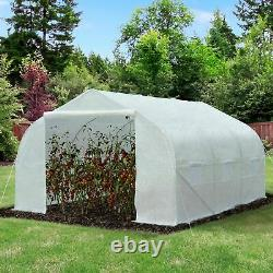 Walk-in Tunnel Greenhouse Gardening Planting Shed Heavy Duty 3.5LX 3WX 2H M