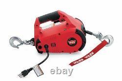 Warn 885000 Pullzall 1000 LB Portable Electric Winch For ATV UTV SXS Trailer