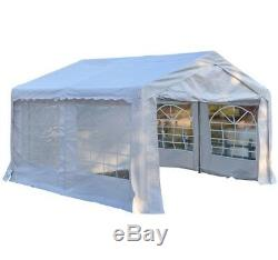 Waterproof Marquee Tent 4x4m Heavy Duty Garden Wedding Car Shelter Party Gazebo