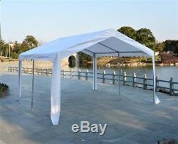 Waterproof Marquee Tent 4x4m Heavy Duty Garden Wedding Car Shelter Party Gazebo