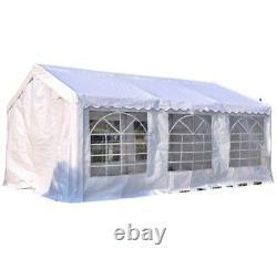 Waterproof Marquee Tent 6x4m Heavy Duty Garden Wedding Car Shelter Party Gazebo