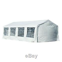 Waterproof Marquee Tent HeavyDuty Garden Wedding Car Shelter Gazebo 4x4m 8x4m