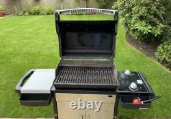Weber BBQ, Weber Gas Barbecue, With Weber heavy duty cover. HARDLY USED! 3