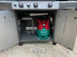 Weber Genesis E330 LP Smoke BBQ Gas Propane heavy duty imported from the USA
