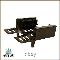 Welly Boot Scraper Brush Jack Puller Scrubber Traditional Cast Iron (Black)